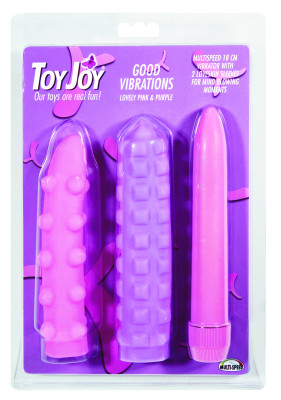 Set Vibrator Toy Joy Good Vibrations, 19 cm