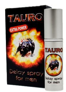 Spray concentrat Tauro Extra Power pentru un act sexual de durata