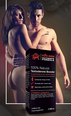 Ultimate Formula For Men - Testesterone Booster - New Formula 2017